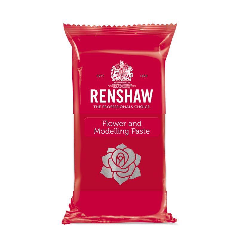 Pâte à sucre à Modelage Rouge 250g Renshaw