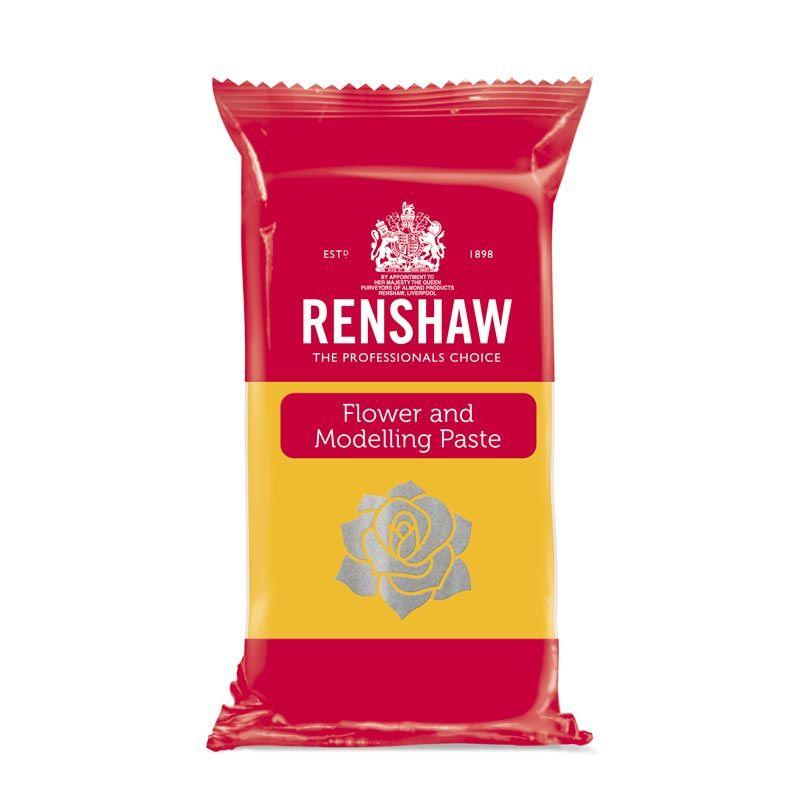 Pâte à sucre à Modelage Jaune 250g Renshaw