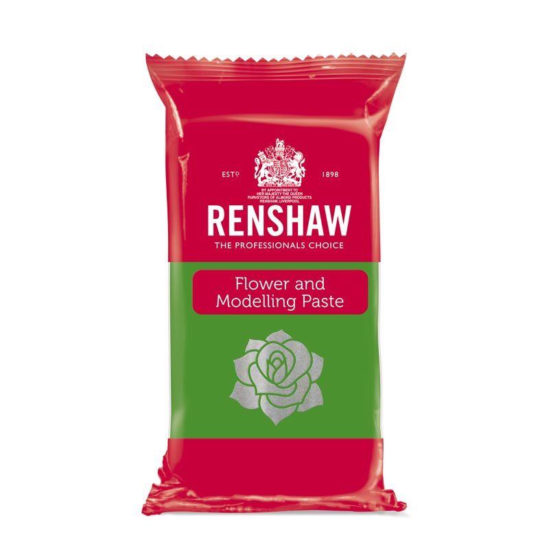 Pâte à sucre à Modelage Vert clair 250g Renshaw