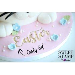 Embosseur Curly Sweet Stamp