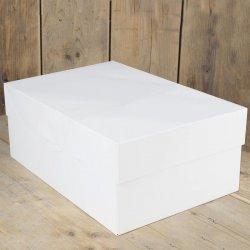 Boîte à Gâteau Blanche 40x30x15cm FunCakes