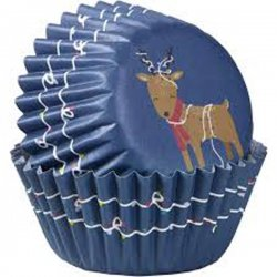 Mini caissettes à cupcakes Renne pk/100 Wilton