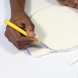 Cutter scalpel pâte à sucre PME