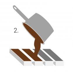 Appareil moulin à copeau de chocolat PME