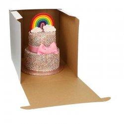 Boîte à gâteaux Blanche 32x32x32cm FunCakes