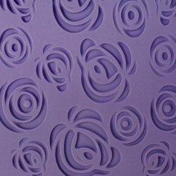 Feuille empreinte Rose Design PME