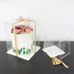 Boîte à gâteaux Crystal 25cm PME