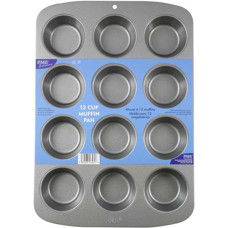Moule plaque 12 CupCakes PME
