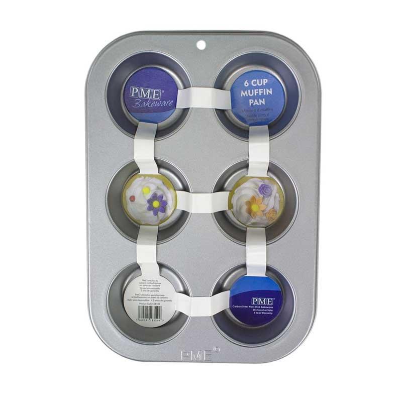 Moule plaque 6 CupCake PME