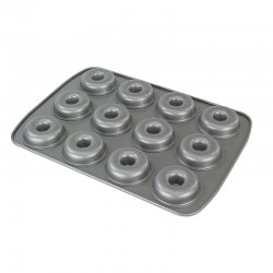Moule plaque pour 12 Donuts PME