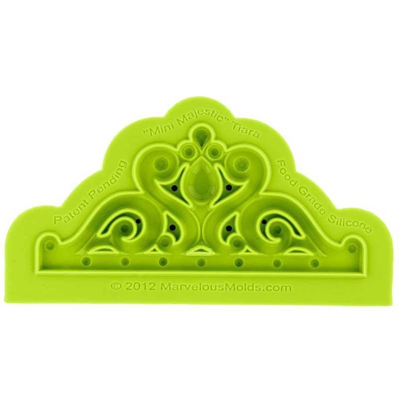Moule silicone mini Couronne Diadème majestueux Marvelous Molds