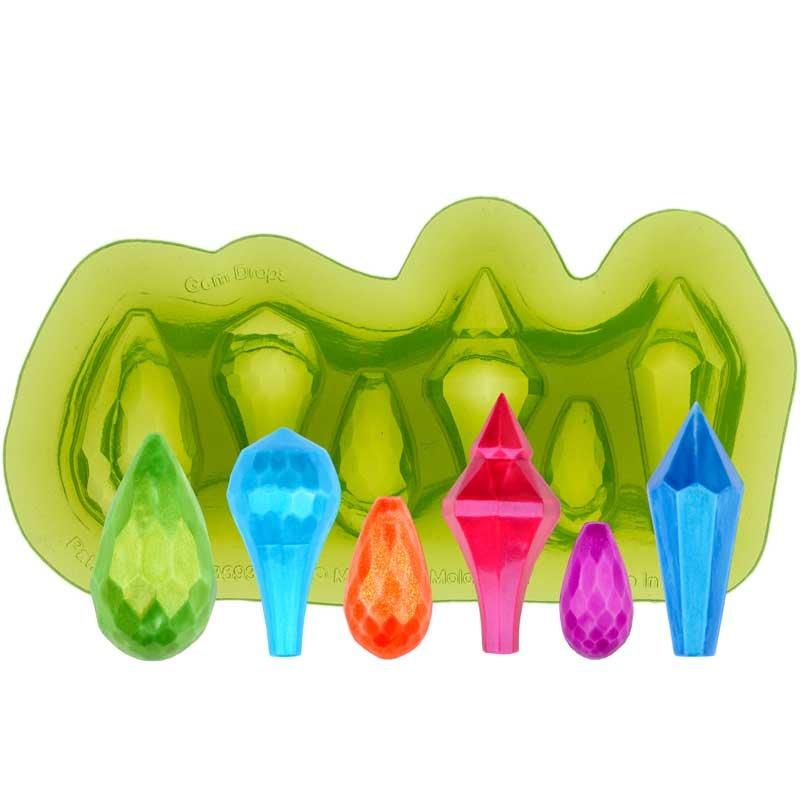 Moule en silicone pour gouttes de gemmes Marvelous Molds