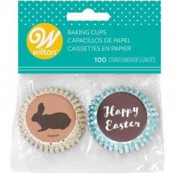 Mini caissettes Cupcake Joyeuses Pâques Wilton