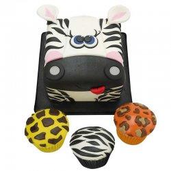Emporte-pièces zèbre, girafe ou léopard FMM
