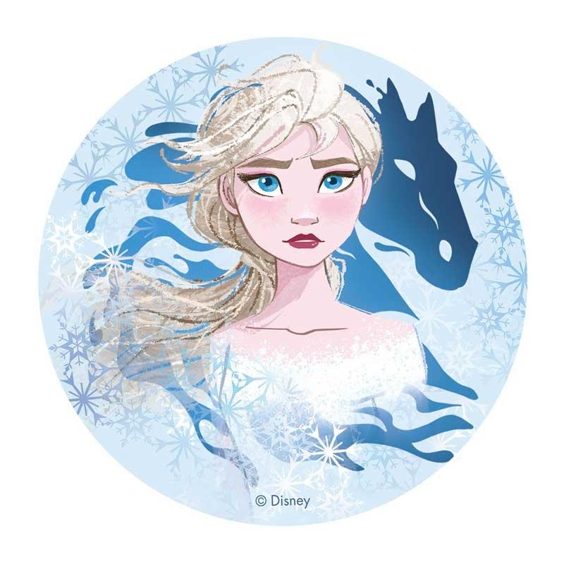 Disque azyme la reine des neiges 2 Elsa Disney