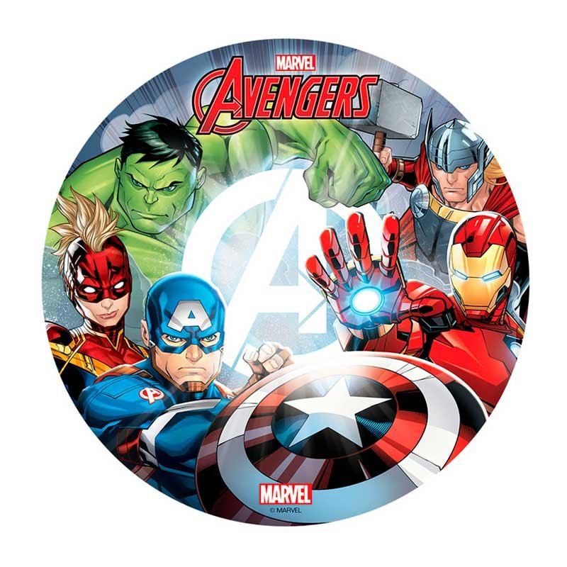 Disque azyme Avengers Marvel