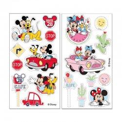 Sticker azyme pour gâteaux de Mickey et Minnie Disney
