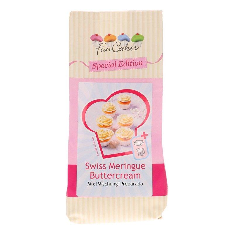 Mix pour Crème au Beurre Meringue Suisse 400gr FunCakes