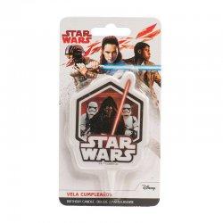 Bougie anniversaire Star Wars