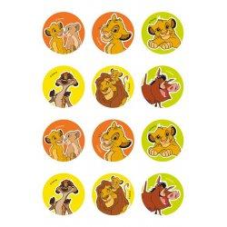 Mini disques à cupcake et biscuits Le Roi Lion Disney