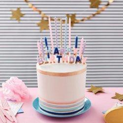 Bougies d'anniversaire Flower set/25 Wilton