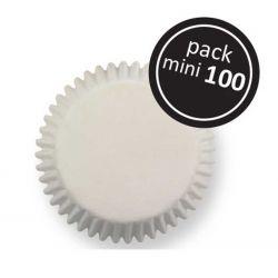 Mini Caissettes à Cupcake Blanche pk/100 PME