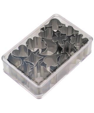 Emporte-pièce métal Mini assortiment set/15 Städter