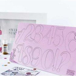 Embosseur grand nombre et symboles élégant Sweet Stamp