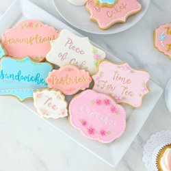 Kit Stamp embosseur Fun Fonts Cupcakes et Cookies Collection 1 PME
