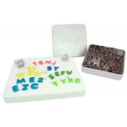 Emporte pièces en métal lettre et chiffre PME