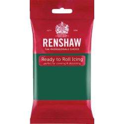 Pâte à sucre PRO Vert émeraude 250 g Renshaw