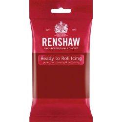Pâte à sucre PRO Rouge rubis 250g Renshaw