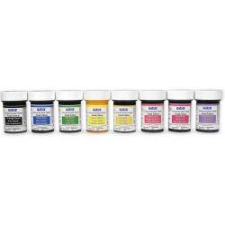 Assortiment colorants alimentaire gel PME