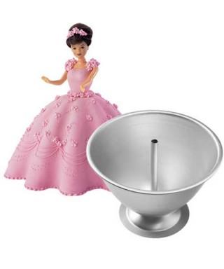 Moule robe de princesse 3D Wilton
