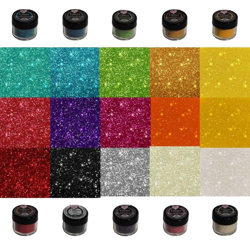 Paillette comestible Glitter Rainbow Dust