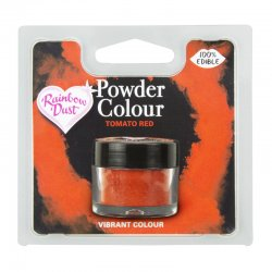 Colorant alimentaire poudre Rouge Tomate Rainbow Dust