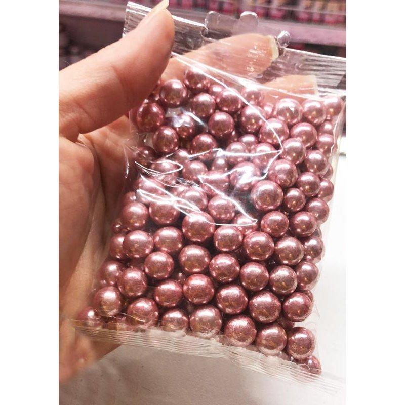 Perle de chocolat Rose métallique 100g Cake Délice