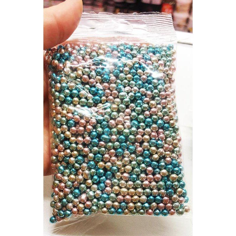 Perle de Sucre Harlequin métallique 100g Cake Délice