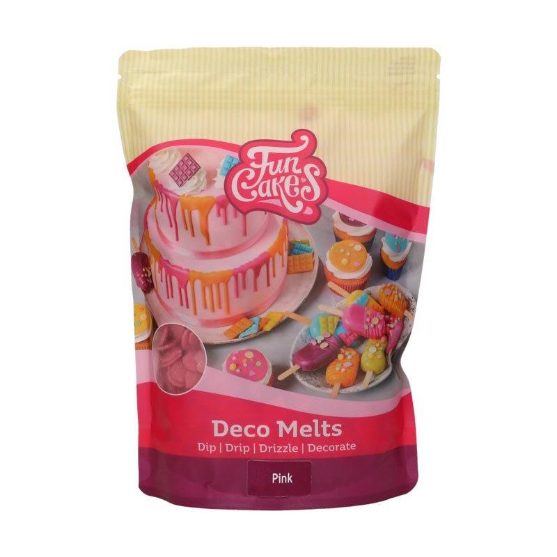 Deco Melts Rose 1kg FunCakes