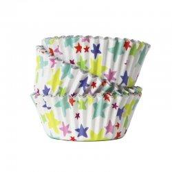 Caissettes à Cupcakes en Aluminium Star Blast pk/30 PME