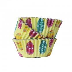 Caissettes à Cupcakes en Aluminium Oeufs de Pâques pk/30 PME