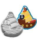 Moule bateau pirate 3D Wilton