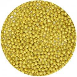 Perles en Sucre Or métallique 80g FunCakes