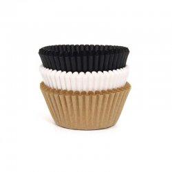 Caissette cupcake assortiment naturelles pk/75 House of Marie