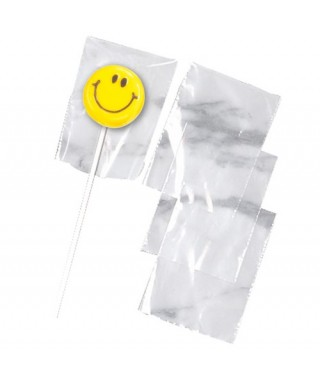 Lollipop sacs transparents pk/50 Wilton