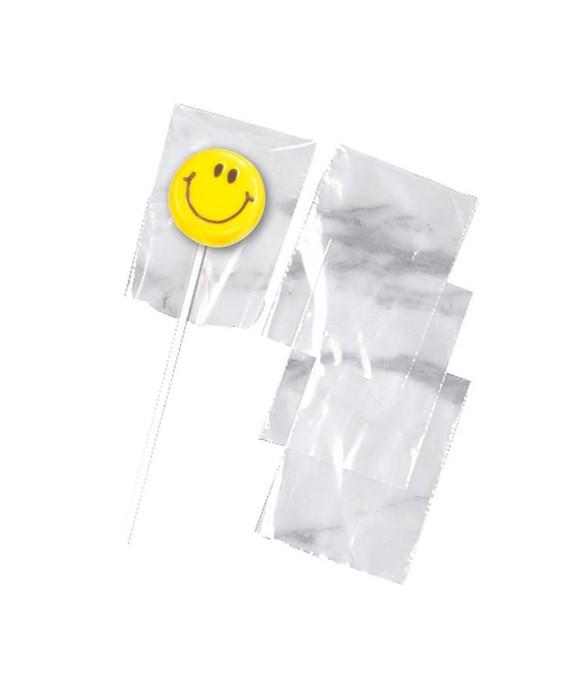 Lollipop sacs transparents pk/50 Wilton