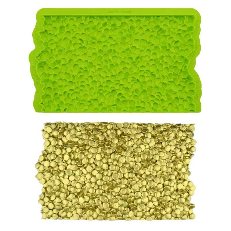 Tapis de texture silicone Confettis Marvelous Molds