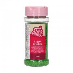 Cristaux de sucre Vert 80g FunCakes