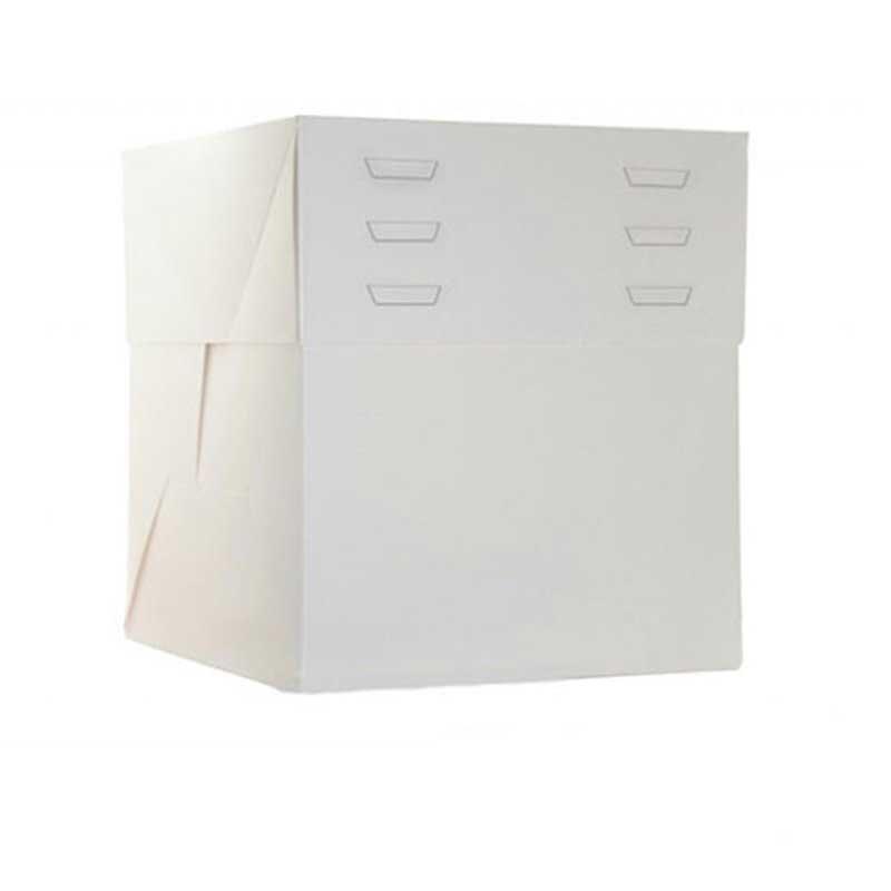 Boîte à gâteaux Blanche 40X30X20 à 30CM de hauteur