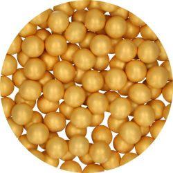 Grosse Perles de chocolat Large Or 70 gr FunCakes